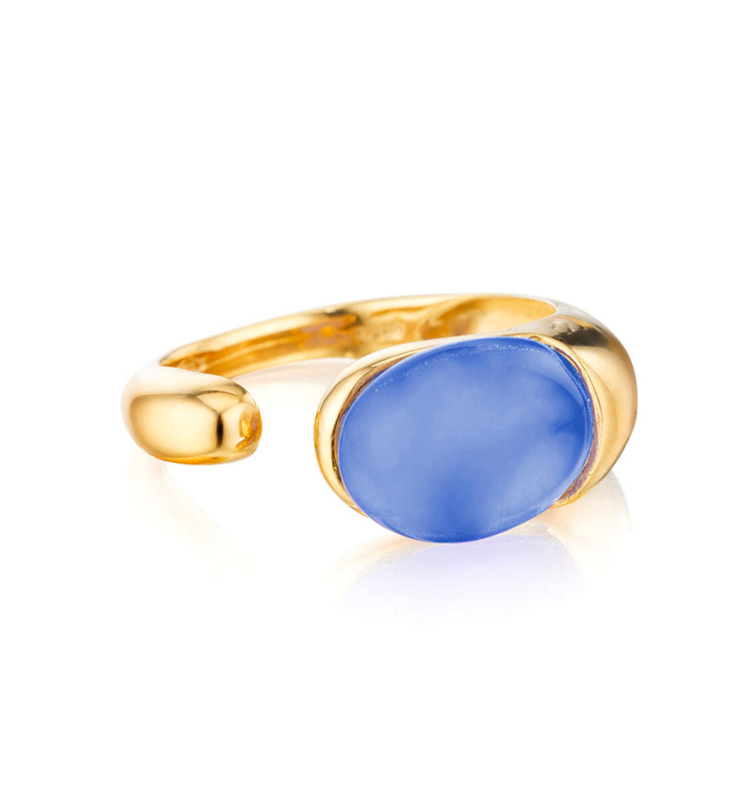 GOCCE COLLECTION RING - AGATHA BLUE
