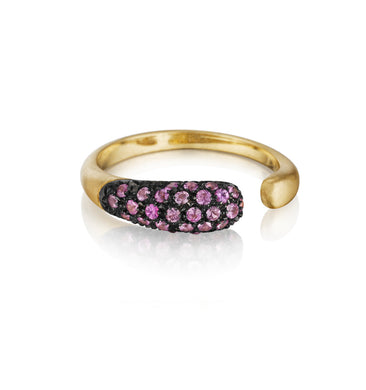 GOCCIOLINE COLLECTION ROSE SAPPHIRE RING - GOLD