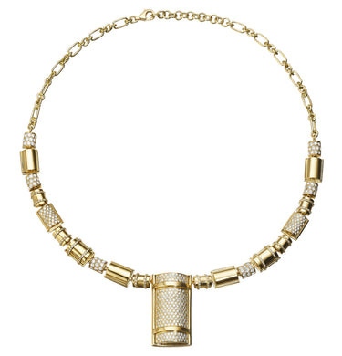 THE BULLET COLLECTION GOLD NECKLACE
