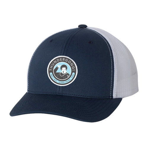 navy and white vance thundergong! hat