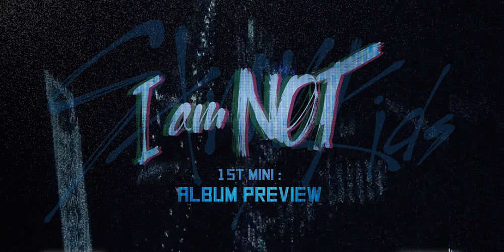 STRAY KIDS - I AM NOT + Postcard Book