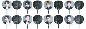 SUPER JUNIOR - SUPER SHOW 7 JAPAN OFFICIAL GOODS Jumbo Fan (Uchiwa)