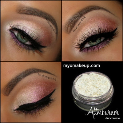 MYO Duochrome Afterburner Eyeshadow Pigment Mica Loose Powder Cosmetic Makeup