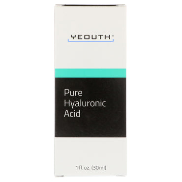 Yeouth, Pure Hyaluronic Acid, 1 fl oz (30 ml)