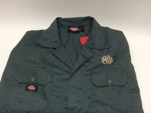 MG Coverall, green with gold octagon