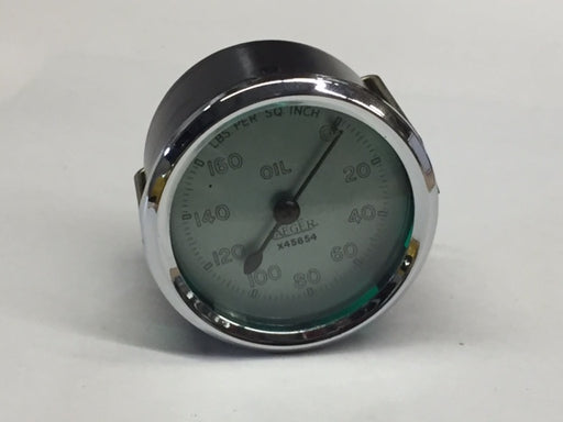 MG TC oil pressure gauge
