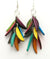 Tagua Nut Cascade Earrings