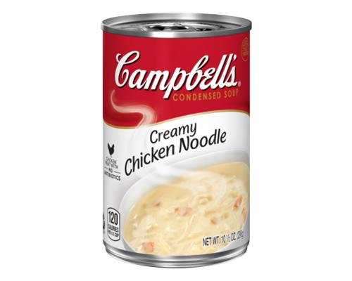 Campbell's Creamy Chicken Noodle Soup