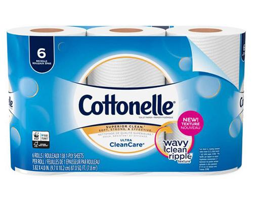 Cottonelle Toilet Paper - 6 ct