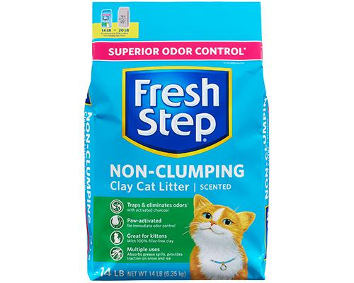 Fresh Step Non-Clumping Scented Cat Litter
