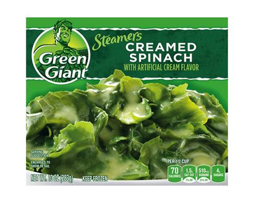 Green Giant Creamed Spinach