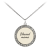 Scripture jewelry-You are a blessed mama by God