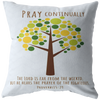 Scripture pillows-Pray continually