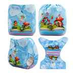 OSFM Pocket Nappy - DY26 - Chirpy Cheeks Nappy Store - cloth nappies, wetbags, mama pads, breast pads, swim nappies