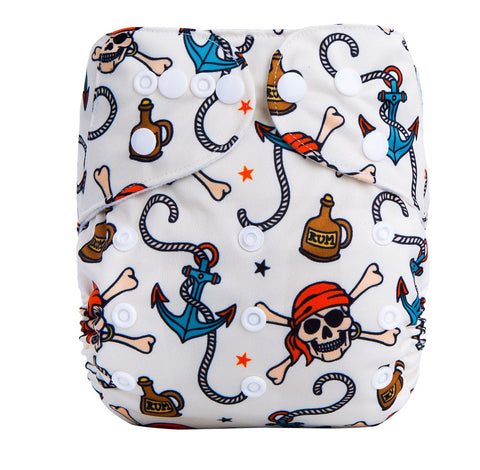 OSFM Pocket Nappy - F10 - Chirpy Cheeks Nappy Store - cloth nappies, wetbags, mama pads, breast pads, swim nappies