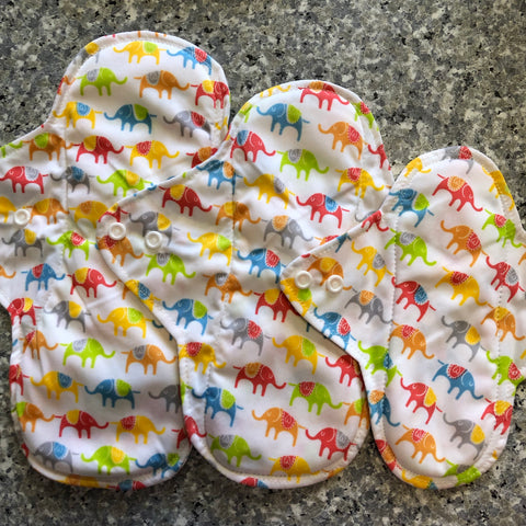 Mama Pad - MN11 - Chirpy Cheeks Nappy Store - cloth nappies, wetbags, mama pads, breast pads, swim nappies