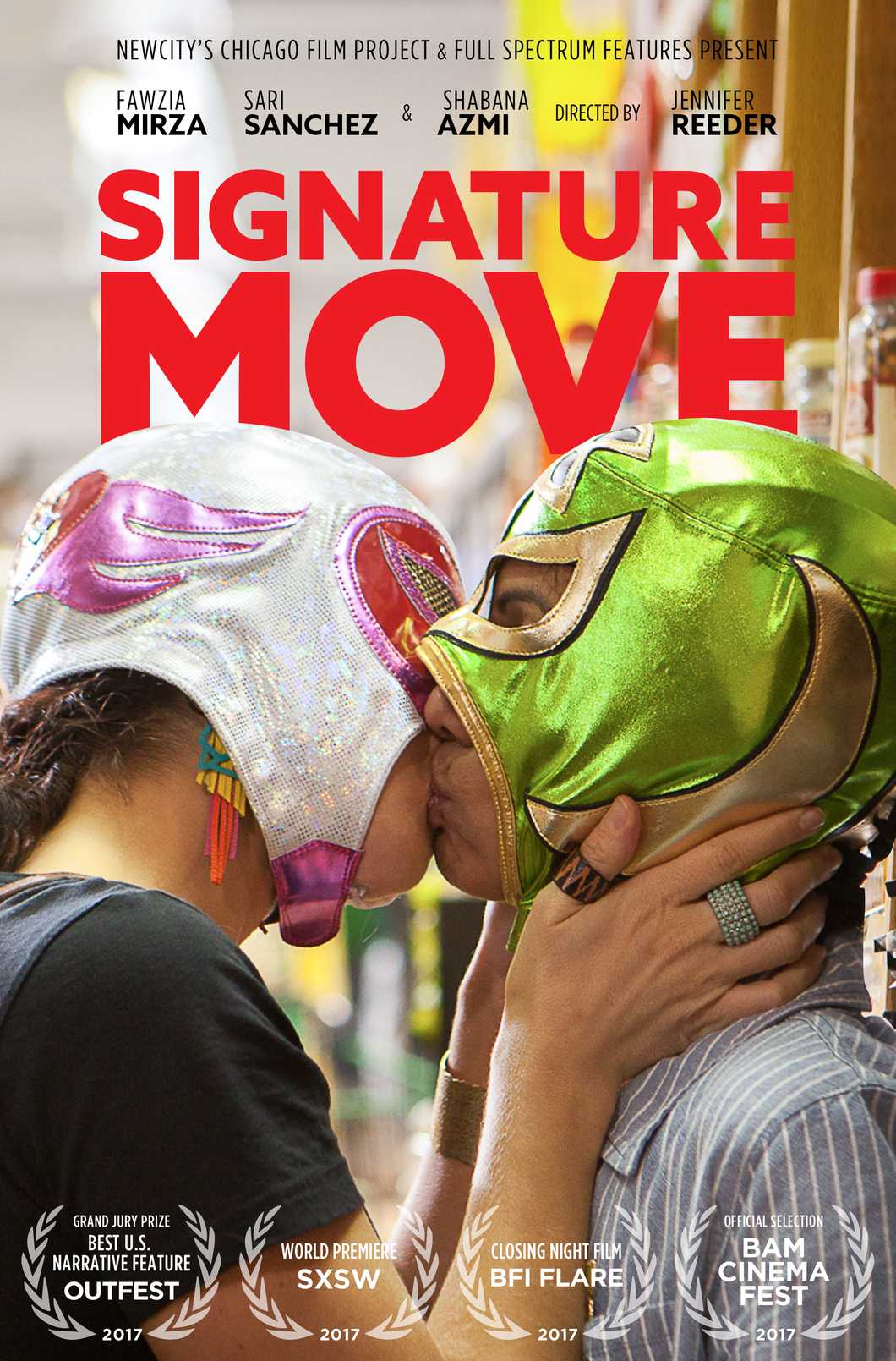 Signature Move Official Movie Poster