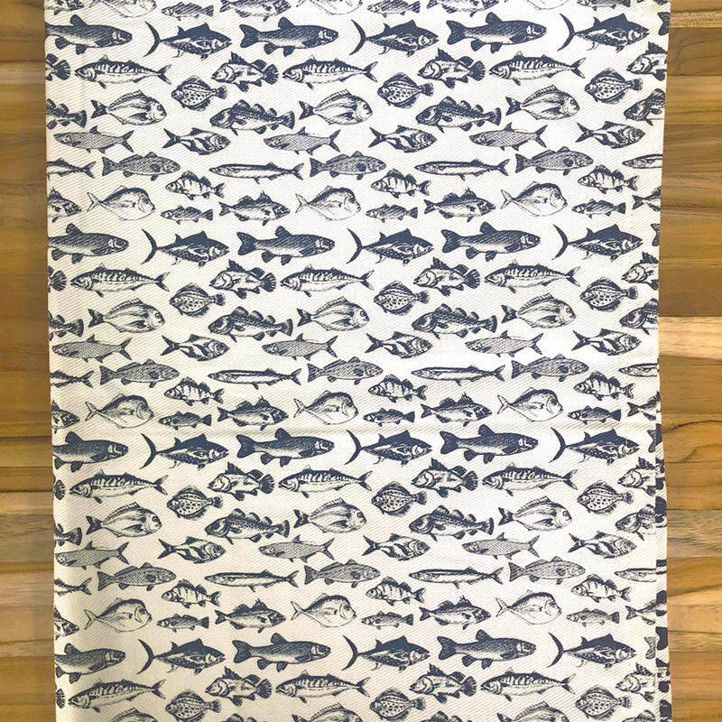 Coastal Kitchen Tea Towel