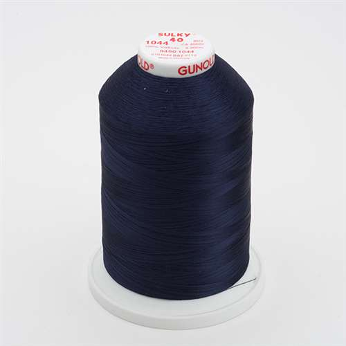 Sulky 40 wt 5500 Yard Rayon Thread - 940-1044 - Midnight blue