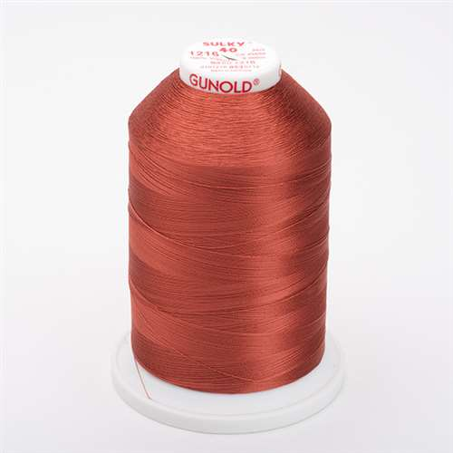 Sulky 40 wt 5500 Yard Rayon Thread - 940-1216 - Med Maple