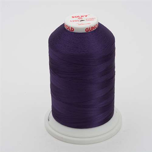 Sulky 40 wt 5500 Yard Rayon Thread - 940-1299 - Purple Shadow