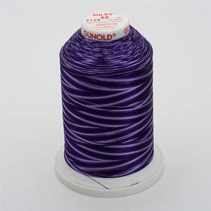 Sulky 40 wt 5500 Yard Rayon Thread - 940-2125 - Royal Purples Var