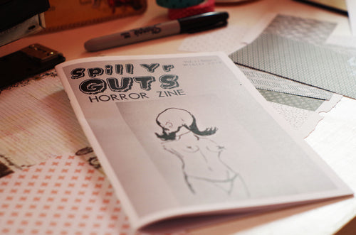 Spill Yr Guts Horror Zine #002 | Winter 2018
