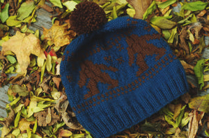Sasquatch Knitted Hat