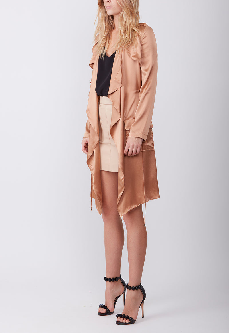 SILK TRENCH  COPPER