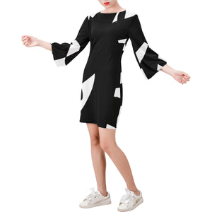 DOS Bell Sleeve Mod Dress - nistka + me