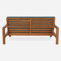 Case Study Furniture® Solid Wood Loveseat - Upholstered