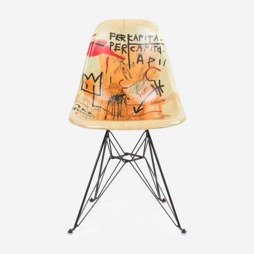 Jean-Michel Basquiat Case Study Furniture® Side Shell Eiffel Chair - Per Capita