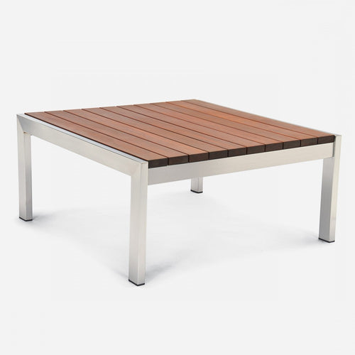 Case Study Furniture® Stainless Coffee Table Square