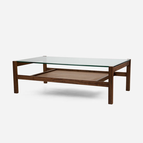 Split Rail Coffee Table - Walnut