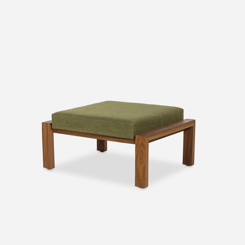Case Study Furniture® Solid Wood Ottoman - Upholstered