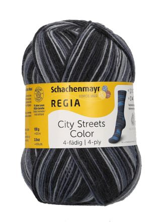 REGIA City Streets Color 4ply 02894