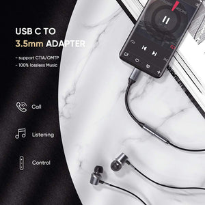 USB C to 3.5mm Audio Jack Adapter