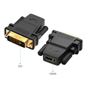 HDMI to DVI 24+1 DVI-D Adapter - Ugreen