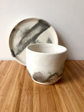 Load image into Gallery viewer, Oriental Matte - Ceramic Coffee Mug plate set - Hsiaowan Studios Handmade Ceramics Pottery
