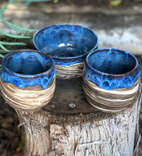 Load image into Gallery viewer, Seconds / Sample Sale : Planetary Series N°. 6  Marbled Clay Drippy glaze planter / pen holder - Hsiaowan Studios Handmade Ceramics Pottery