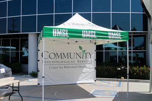 UMSL Psychological Service - Custom Pop Up Tents