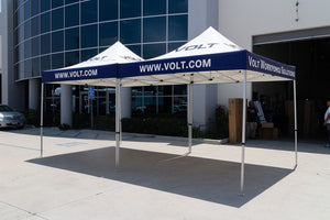 Volt Workforce Solutions - Custom Pop Up Tents