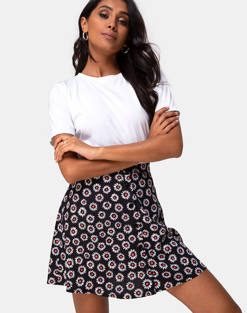 Andrea Skirt in Dancing Daisy by Motel