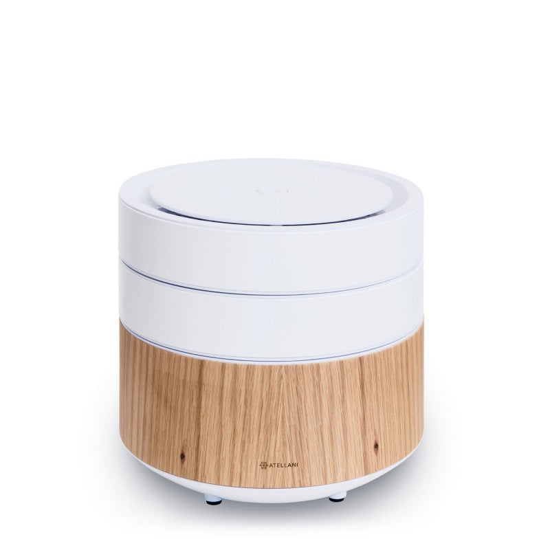 brid air purifier oak/white