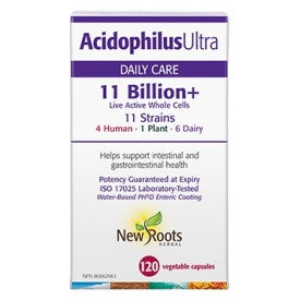 NEW ROOTS-ACIDOPHILUS ULTRA 11 BILLIONS+