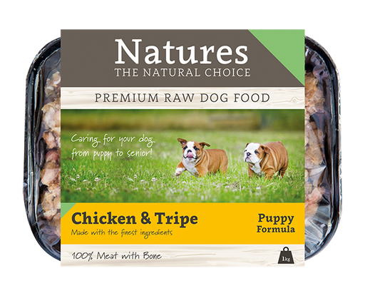 Puppy Chicken & Tripe - Natures Trade