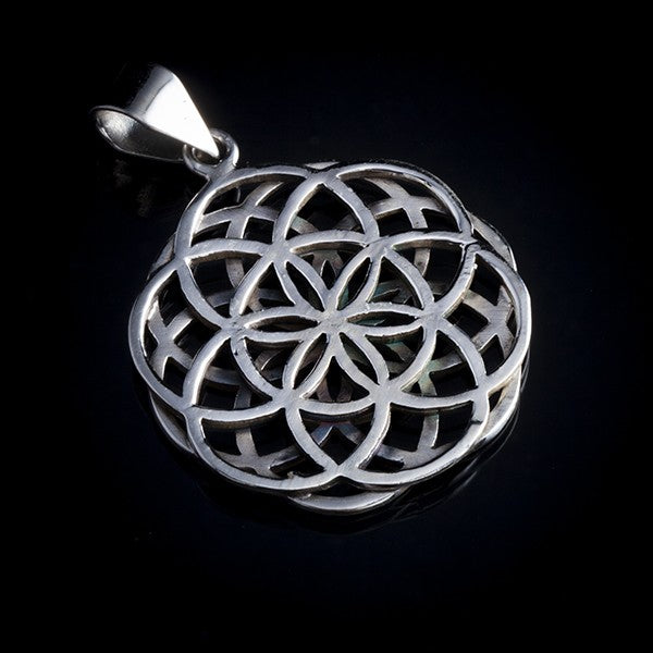 Double seed of life pendant