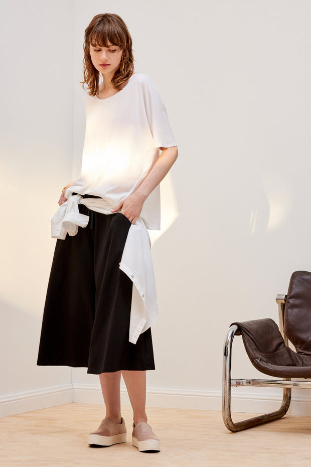 kowtow building block culottes ethical organic fairtrade cotton NZ Designer stockists new zealand fashion shop online ponsonby