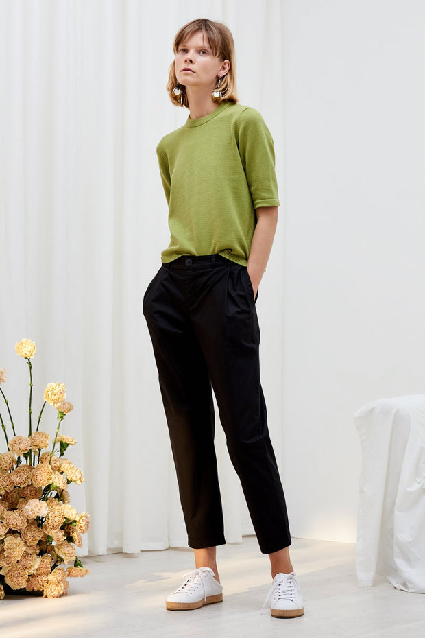 kowtow classic pant black organic cotton ethical clothing stockists Auckland Ponsonby