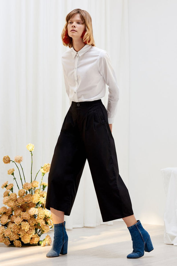 kowtow classic shirt white organic cotton ethical clothing stockists Auckland Ponsonby